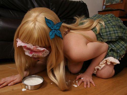 【エロ画像】美少女達もコスプレするとすぐに脱いじゃうよな! 36枚 No.1