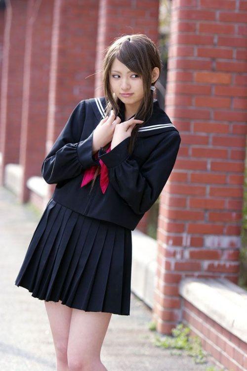 【画像】笑顏もスタイルもモデル級に可愛いJKをまとめ 38枚  No.6