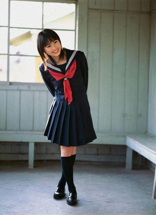 【画像】笑顏もスタイルもモデル級に可愛いJKをまとめ 38枚  No.28