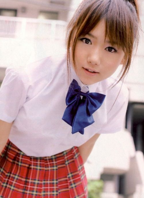 【画像】笑顏もスタイルもモデル級に可愛いJKをまとめ 38枚  No.38