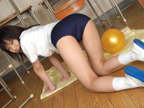 【エロ画像】ブルマがお尻に食い込んでるJKとブルマパンモロJK 39枚 No.15