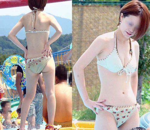 ビーチにいる女の子の美しいお尻を盗撮した画像集めたった 35枚 No.12