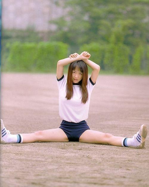 【JKエロ画像】ブルマは体操服というよりコスプレだろJK 39枚 No.21