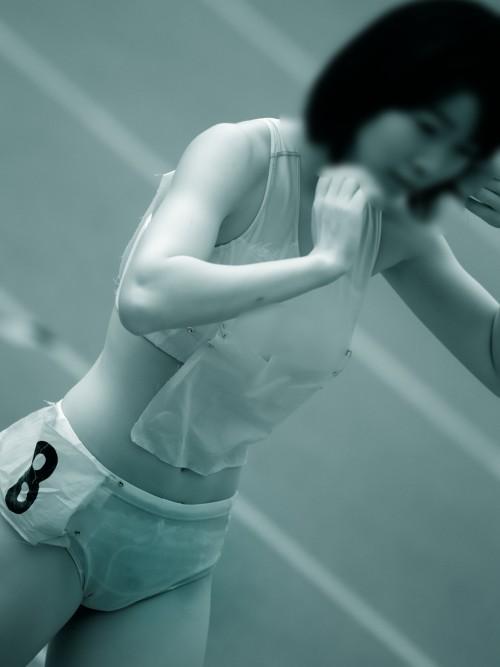 女子スポーツ選手の陰毛、乳首、割れ目が見えちゃう赤外線盗撮画像 40枚 No.3