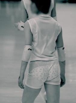 女子スポーツ選手の陰毛、乳首、割れ目が見えちゃう赤外線盗撮画像 40枚 No.24