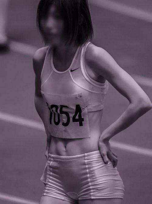 女子スポーツ選手の陰毛、乳首、割れ目が見えちゃう赤外線盗撮画像 40枚 No.38