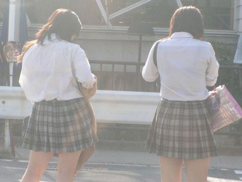 【画像】女子高生の透けたブラジャーの色が濃いとエロランジェリー状態 35枚 No.24