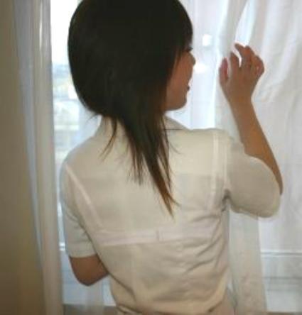【画像】女子高生の透けたブラジャーの色が濃いとエロランジェリー状態 35枚 No.33