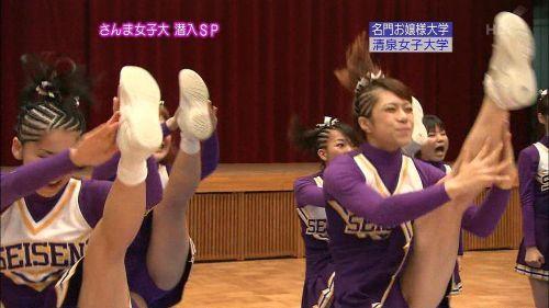 【画像】チアリーダーの健康的で爽やかな肉体がエロくて抜ける! No.15