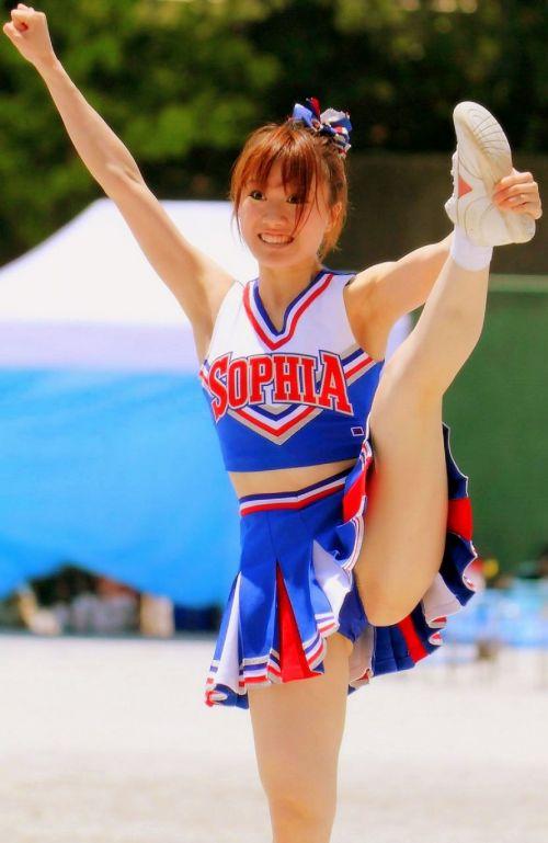 【画像】チアリーダーの健康的で爽やかな肉体がエロくて抜ける! No.30