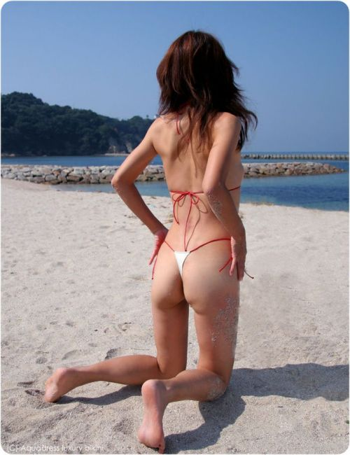 裸同然なマイクロビキニのエロ画像集めたった! 39枚 No.34