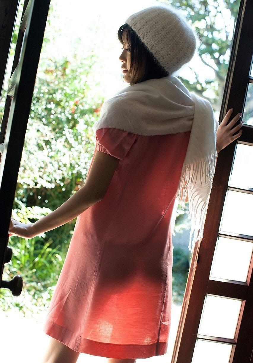 葵つかさ(あおいつかさ) 紐パンセーラー服、黒ガーターベルトでおっぱいをさらけ出しちゃうAV女優エロ画像 104枚 No.93