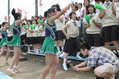【勃起速報】チアガールって股間の魅せ方を争う競技だよな! 55枚 No.28