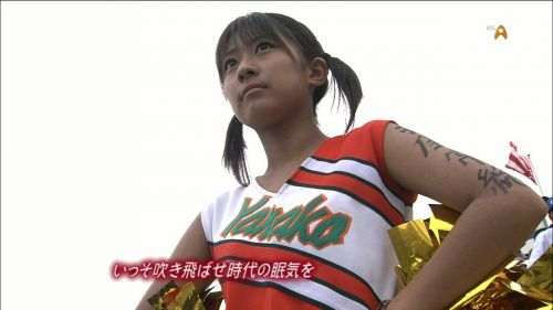 【勃起速報】チアガールって股間の魅せ方を争う競技だよな! 55枚 No.47