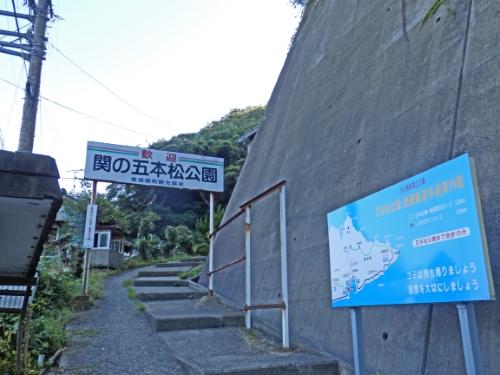 関の五本松公園 _resized