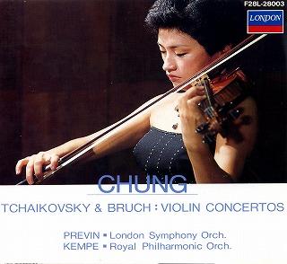 CHUNG tchaikovsky bruch violin concertos