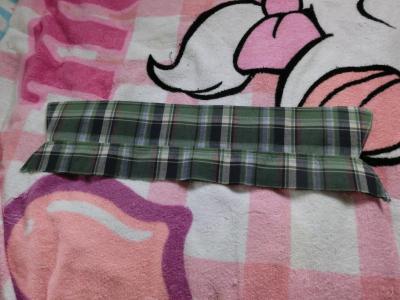 シャツタイプの襟