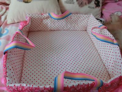 簡易ベッド完成