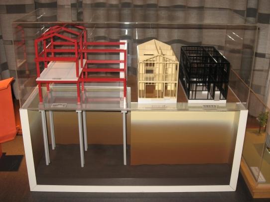 住宅構造模型
