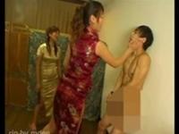 【M男】チャイナドレスでM男虐め!