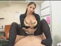 黒パンスト美人痴女医 友田彩也香