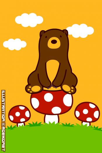 熊イラスト