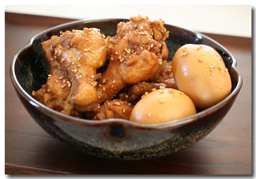 鶏手羽元の甘辛さっぱり煮