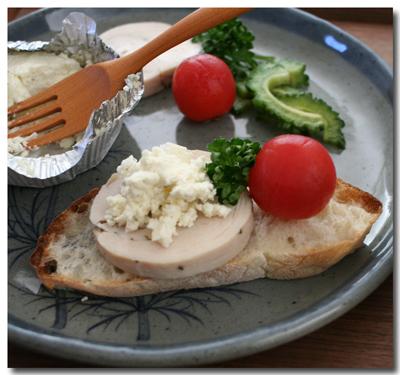鶏ハムチーズ