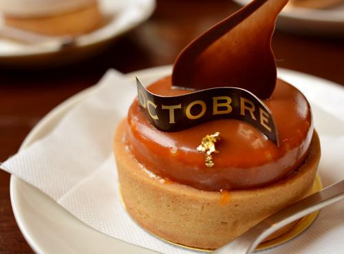 【ケーキ】オクトーブル「タルトキャラメル」