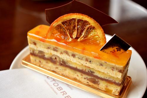 【ケーキ】オクトーブル「ナッツとオレンジ」 (1)