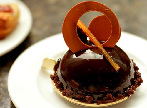 【ケーキ】ペストリー ブティック「チョコレートとシトラスのトリュフ」