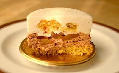 【ケーキ】イル・プルー・シュル・ラ・セーヌ「栗とココナッツのムース」02