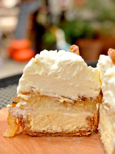 【ケーキ】エチエンヌ「焼きリンゴのチーズケーキタルト」03