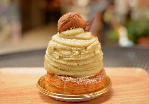 【ケーキ】エチエンヌ「和栗のモンブランパイ」01