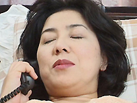 【無修正】テレフォンセックスでは満たされない熟女の性欲
