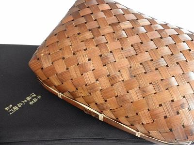伊藤久右衛門 敬老の日ギフト『竹かごセット 宝づくし2015』