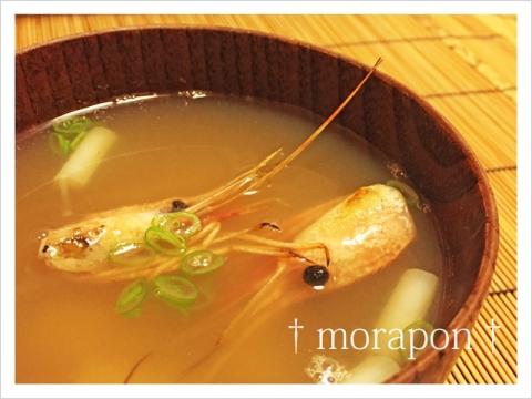 150916 ボタンエビのお味噌汁