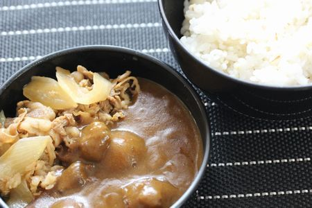 牛丼カレー弁当