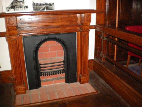 インブリー館・1階暖炉