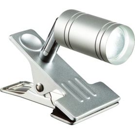 オーム電機 LEDクリップライト 4.5W 昼白色 LTL-C6N-S②