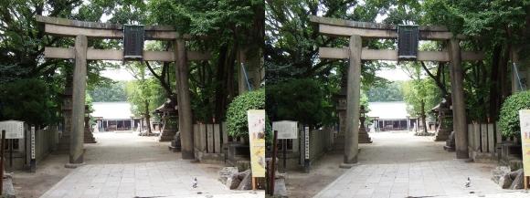 原田神社(平行法)