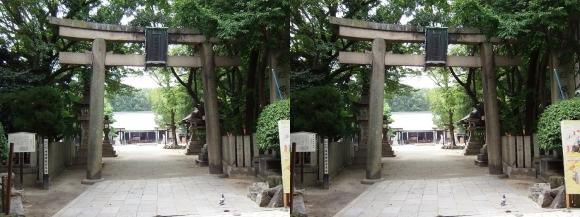 原田神社(交差法)