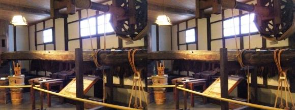 白鶴酒蔵資料館⑧(交差法)