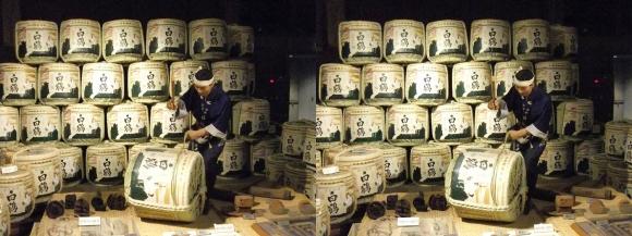 白鶴酒蔵資料館⑥(平行法)