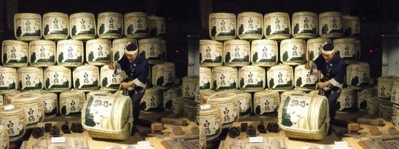 白鶴酒蔵資料館⑥(交差法)