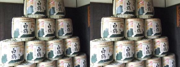 白鶴酒蔵資料館②(交差法)