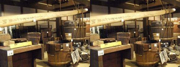 菊正宗酒蔵記念館⑭(交差法)
