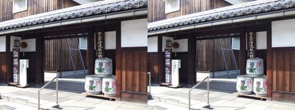 菊正宗酒蔵記念館③(平行法)