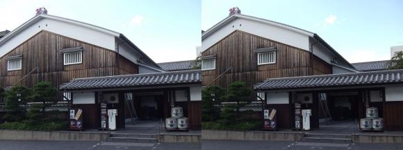 菊正宗酒蔵記念館②(交差法)