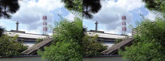 菊正宗酒蔵記念館①(交差法)